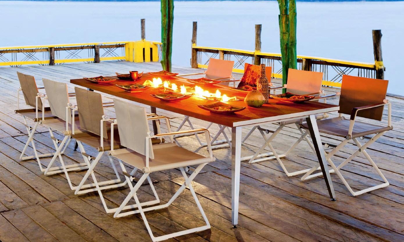 Dedon seax tisch und stuhl galassia interior design for Tisch stuhle design