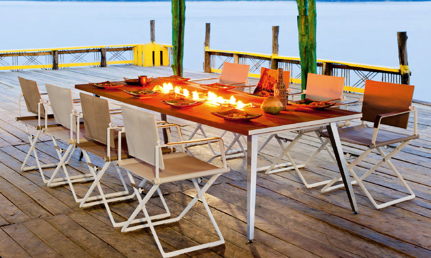 dedon seax tisch und stuhl galassia interior design. Black Bedroom Furniture Sets. Home Design Ideas