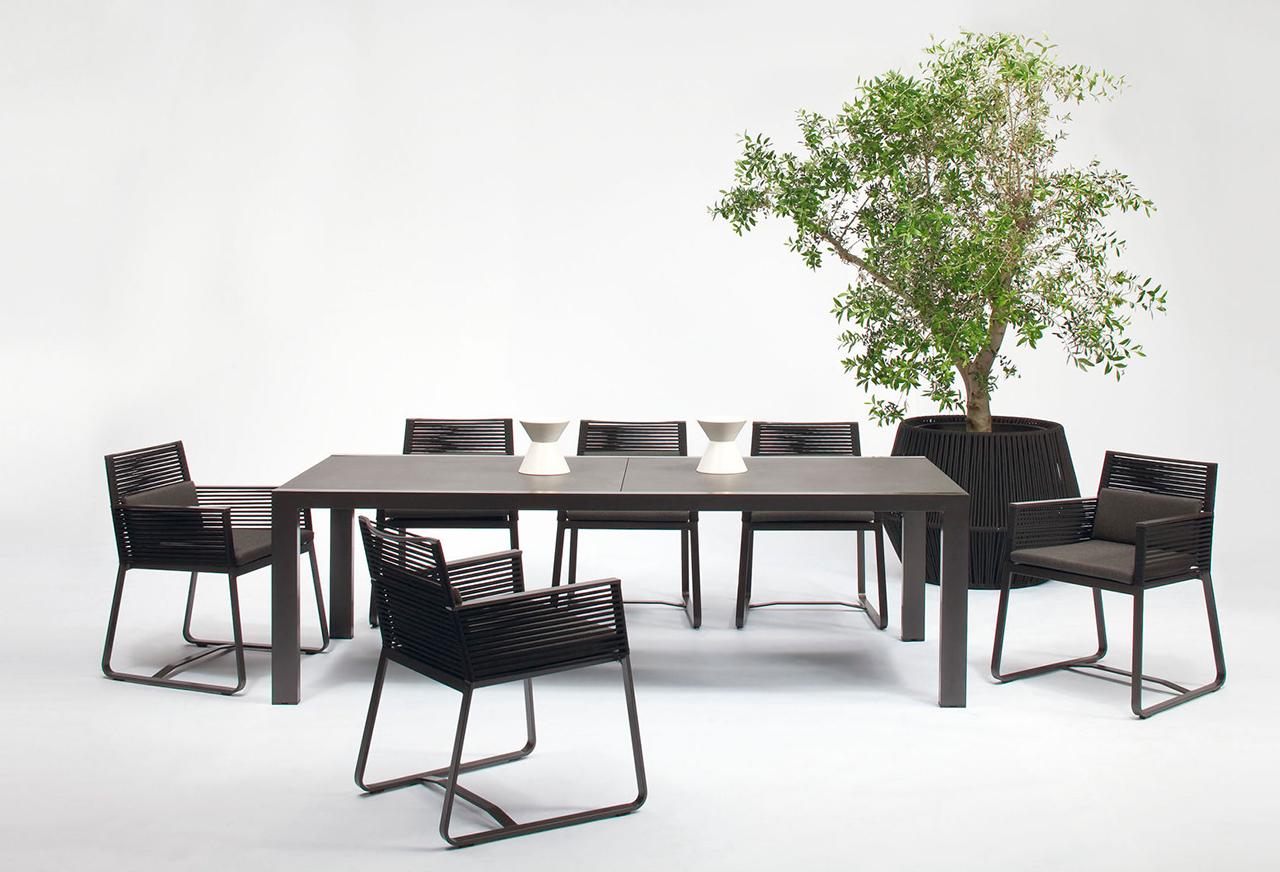 Sedie A Slitta Moderne.Sedie Slitta Giardino Moderne Kettal02 Galassia Interior Design